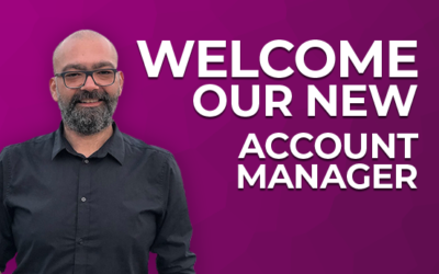 Welcome our New Account Manager