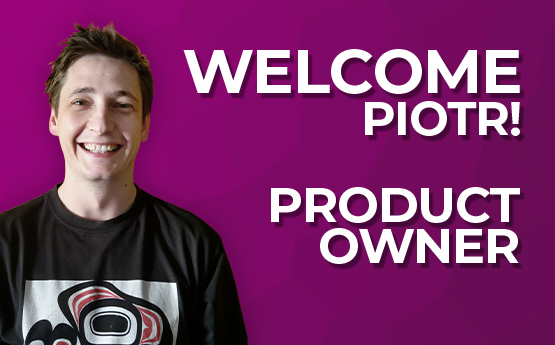 Welcome our New Product Owner