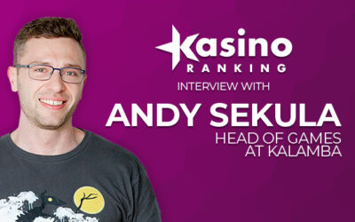 Kasinoranking interview with Andy Sekula