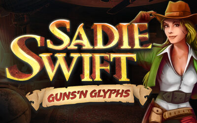 Sadie Swift: Guns'n Glyphs out now!